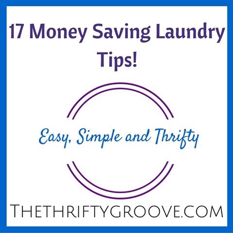 17 Money Saving Laundry Tips!