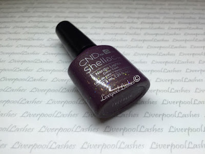 liverpoollashes liverpool lashes cnd shellac nordic lights