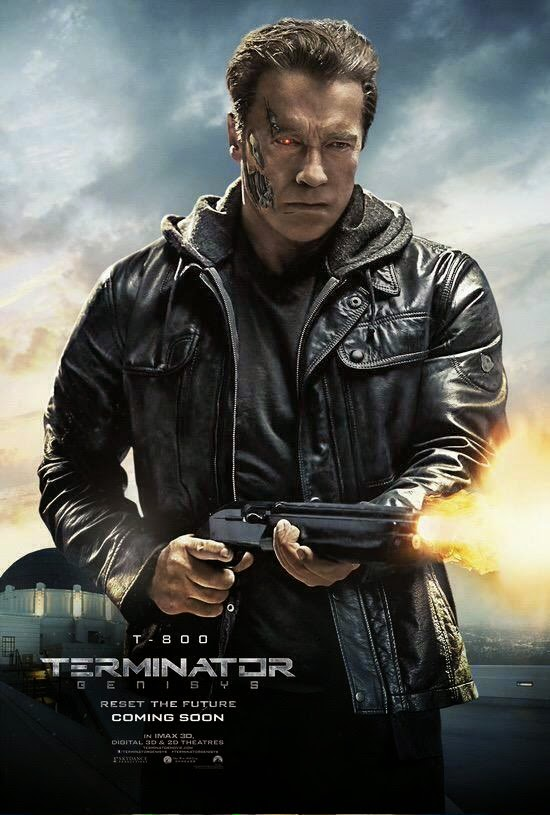 Finally We Get A Look At Arnold Schwarzenegger In The New Terminator Movie!