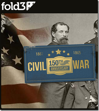 Fold3 Free Civil War Documents in April 2015