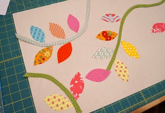 Bursting Buds Table Runner by SameliasMum - Step 3