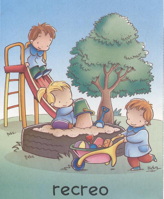 Dibujos de rutinas escolares for Actividades para el jardin de infantes
