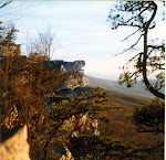 Annapolis Rock, near the Appalachian Trail by Myersville, Maryland.