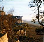 Annapolis Rock, near the Appalachian Trail by Myersville, Maryland.