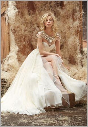 hayley-paige-bridal-silk-georgette-natural-a-line-grecian-draped-ruffle-alabaster-crystal-bolero-chapel-6409_zm