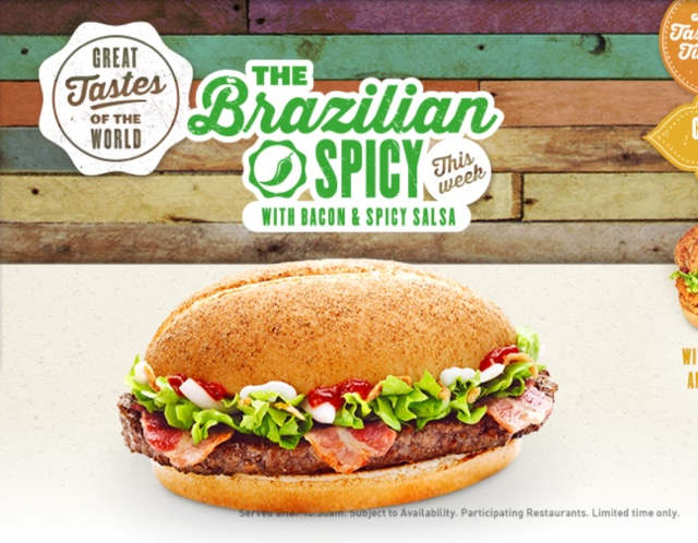 McDonald's The Brazilian Spicy