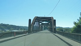 US 101 Oregon Bridge
