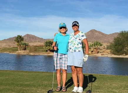 Yuma Golf Martha and Ev
