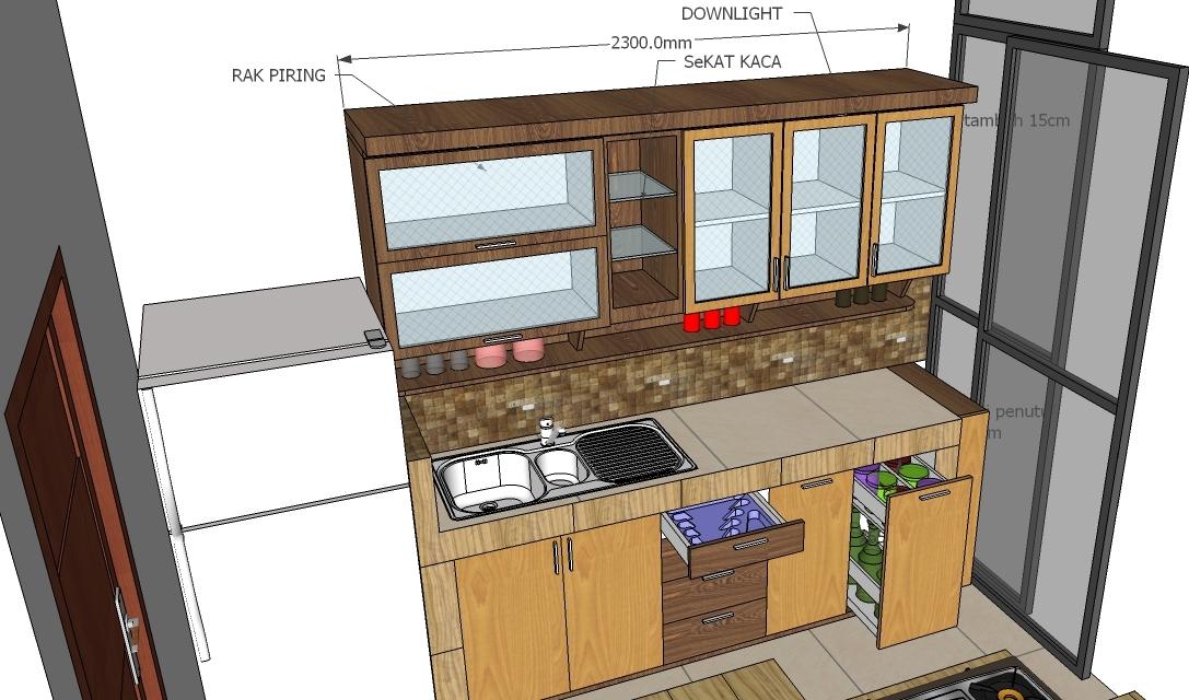 Jasa kitchenset solo pembuatan kitchenset di gentan solo for Pemasangan kitchen set