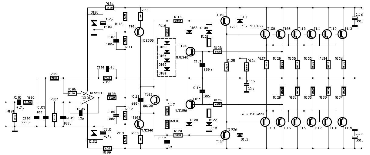 Shubham electronics 600 WATT HIFI Power Amplifier PA600