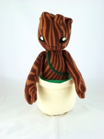 Cudly Plush Baby Tree Alien by Handmade Stuffs