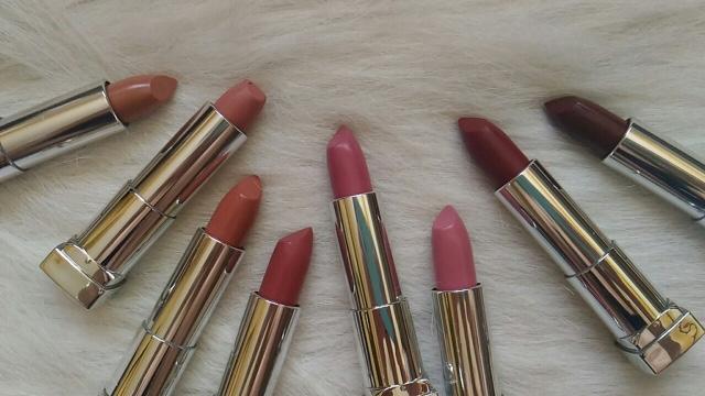 Maybelline Creamy Matte Lipsticks