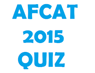 AFCAT 2015 : SCIENCE QUIZ