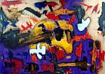 For Donny. Acryl on Canvas, 40x50 cm