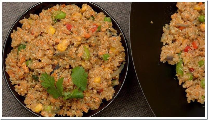 Quinoa Pulav 3