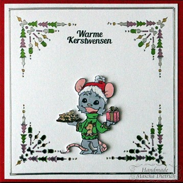Hobbydots Henry Christmas Mous 1