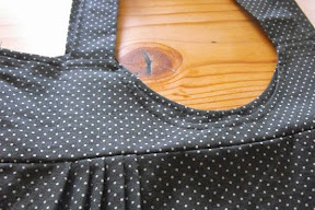 Polkadots and Pleats Bag