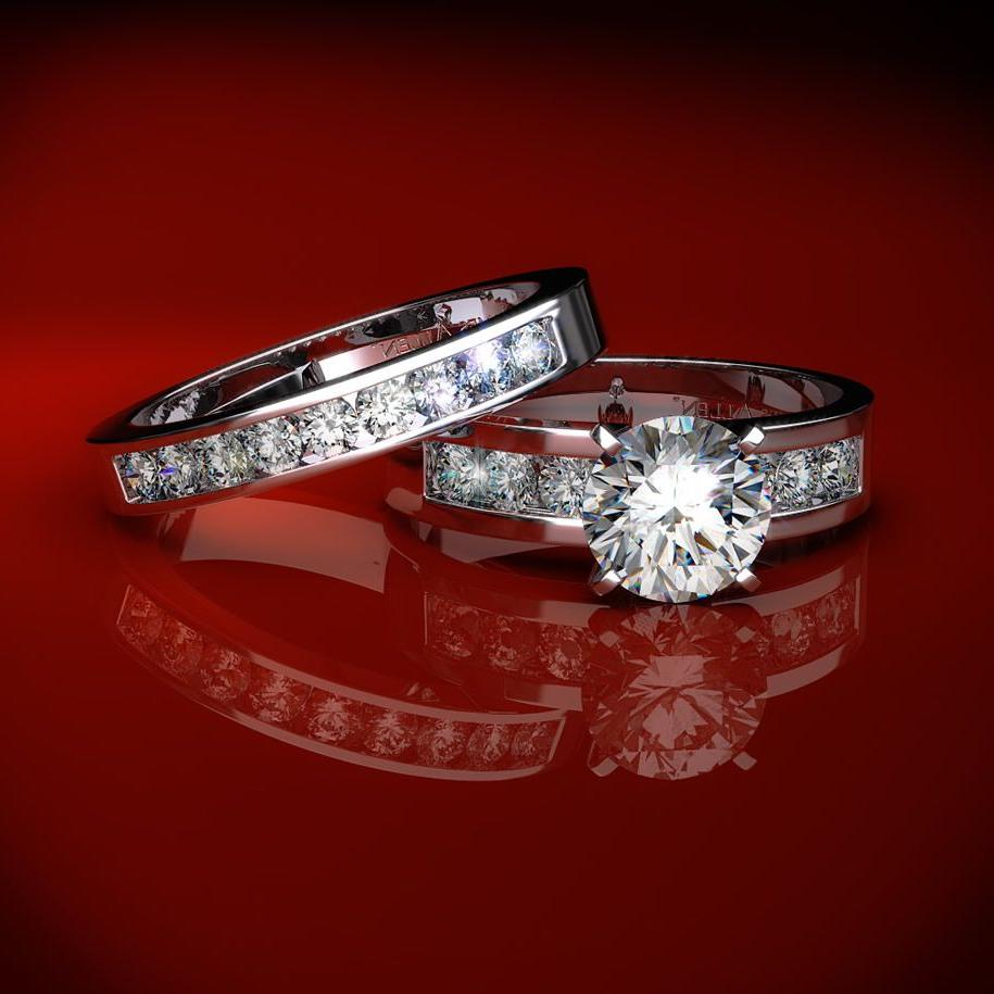 engagement wedding ring sets