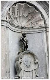 Писающий мальчик. Скульптура. Брюссель