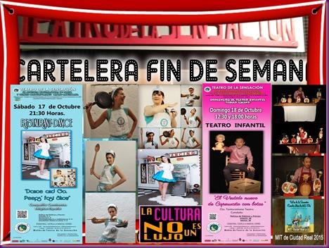 FIN DE SEMANA RESTAURANT DANCE Y CAPERUCITA