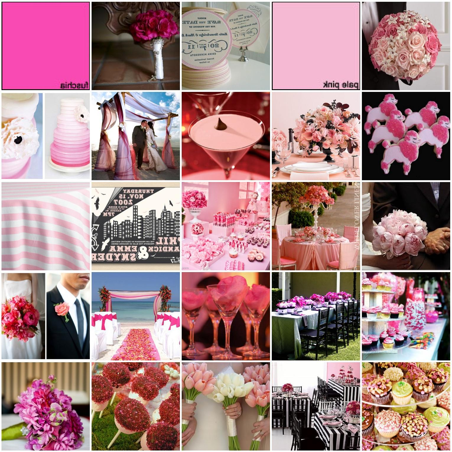 Her DREAM wedding is pink with