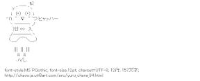[AA]ふなっしー (ゆるキャラ)