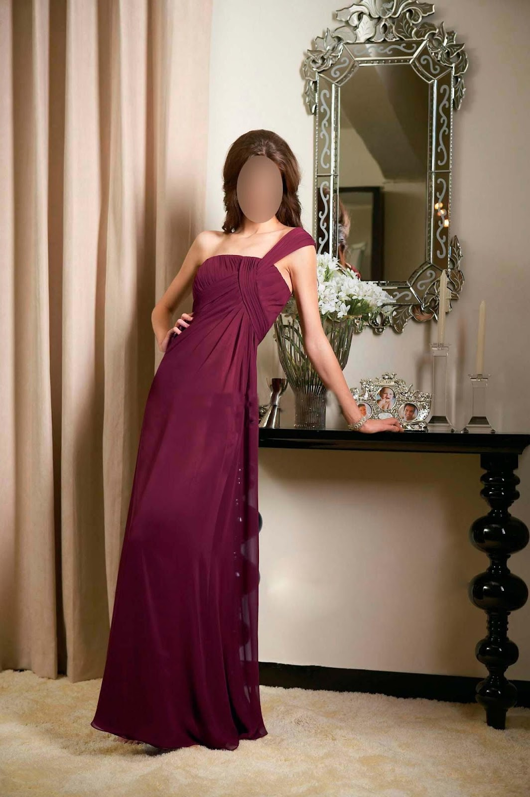 Long Bridesmaid Dresses : Long