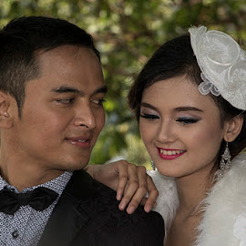 by Dandy Tanuwidjaja - Wedding Bride & Groom