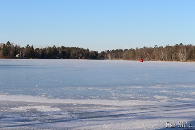 Millpond froze over