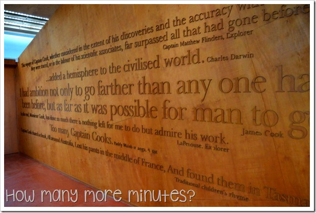 How Many More Minutes | James Cook Museum in Cooktown, QLD