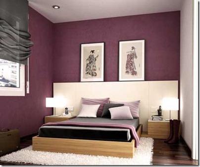 Fotos pinturas y colores dormitorio matrimonio - Pinturas para dormitorios ...