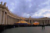The Line, St. Peter's Square, & The Circus?!? - St. Peter's, Vatican City