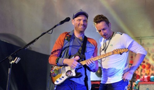 Live Lounge Coldplay