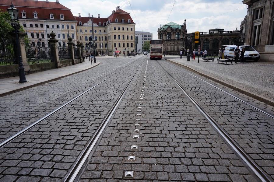 Улицы в Дрездене
