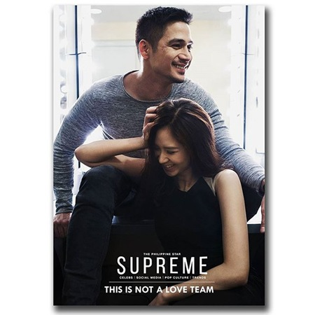 Piolo Pascual and Sarah Geronimo - PhilStar Supreme