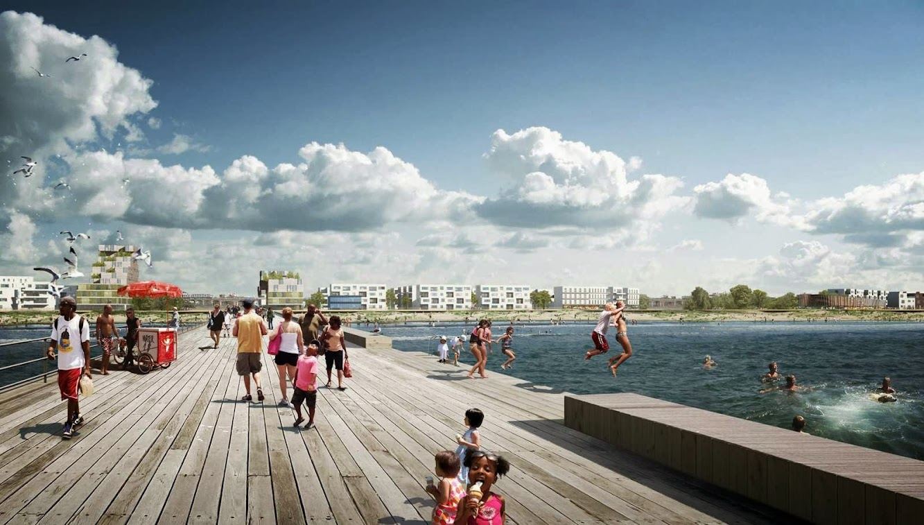 White Arkitekter Wins the Far Roc Competition