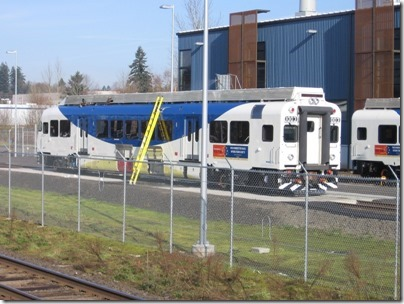 IMG_5018 TriMet Westside Express Service DMU #1003 in Wilsonville, Oregon on January 14, 2009