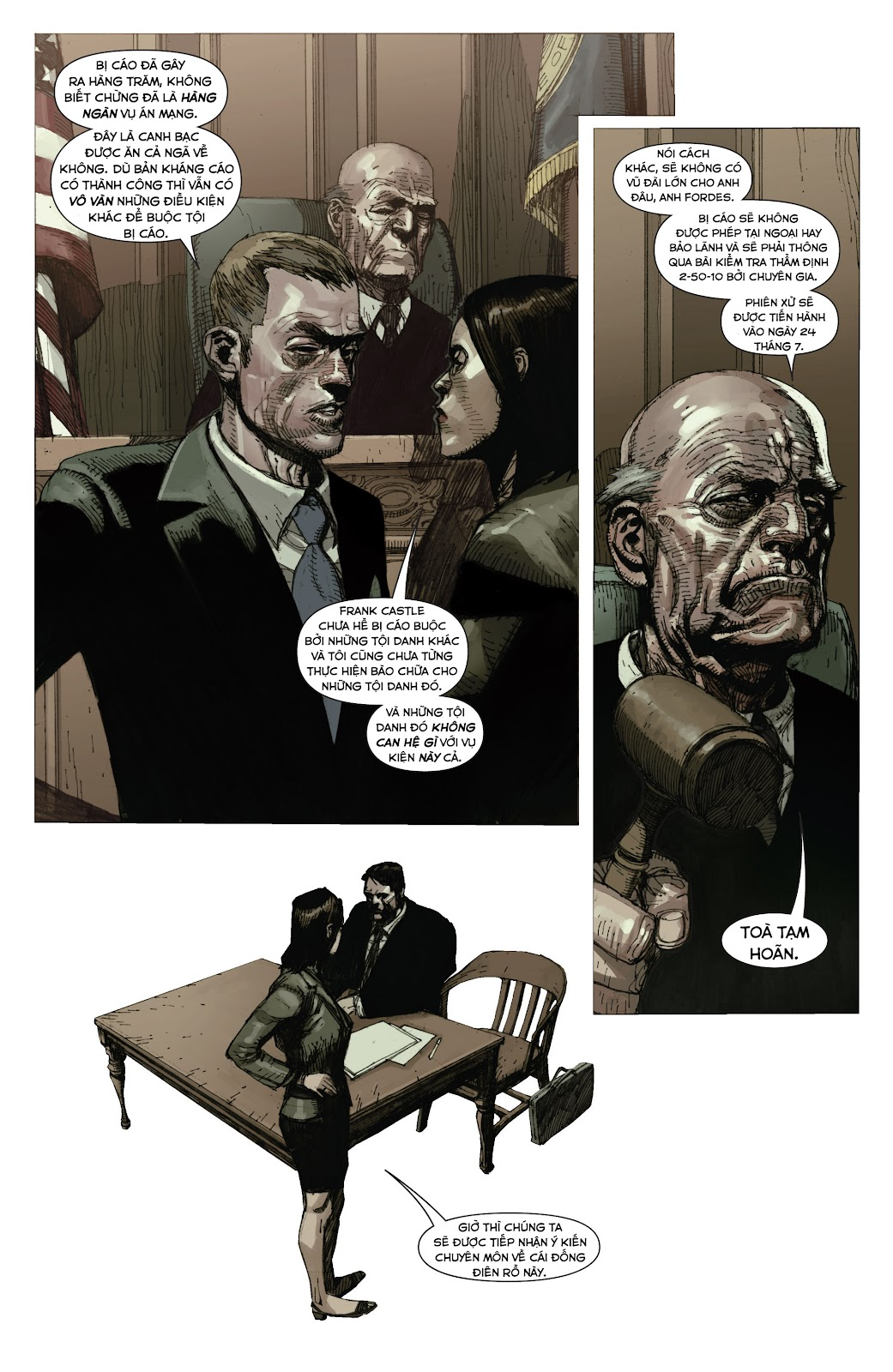 Punisher: Trial of the Punisher chap 1 - Trang 17