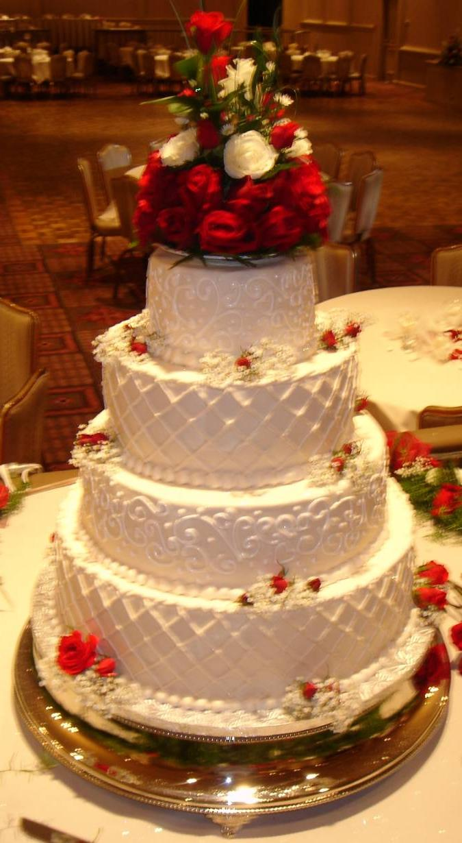 wedding cake with fabulous