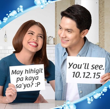 Maine Mendoza and Alden Richards for Zonrox