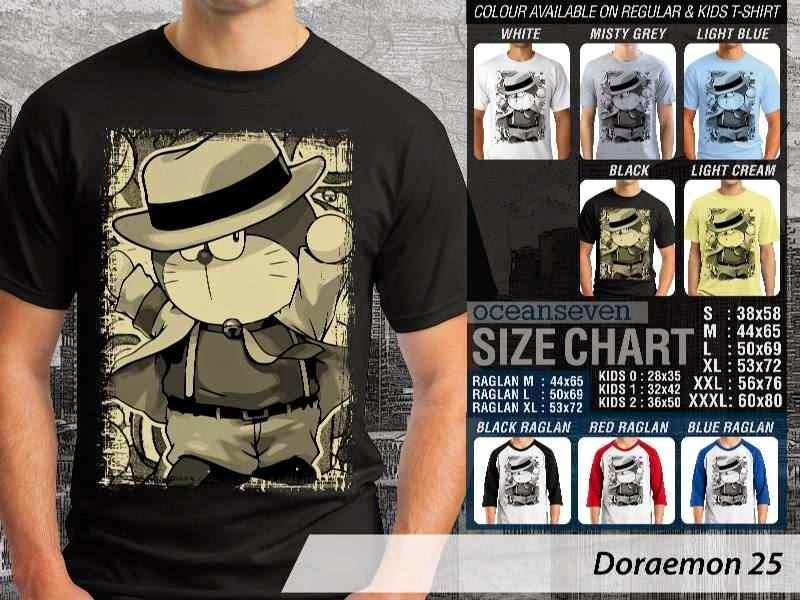 KAOS Doraemon 25 Manga Lucu distro ocean seven