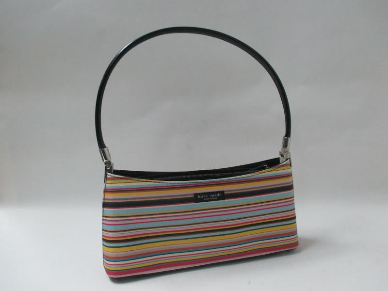 Kate Spade Striped Handbag