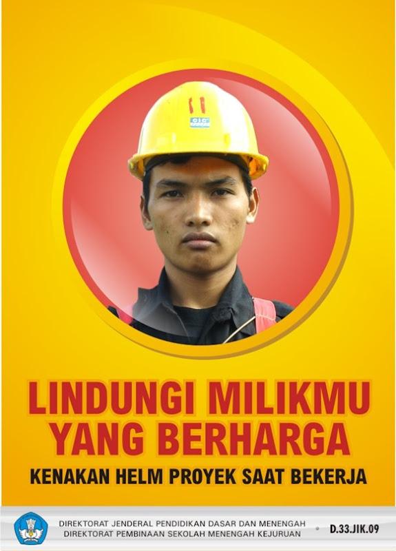 Lindungi milikmu yang berharga, kenakan helm proyek saat bekerja