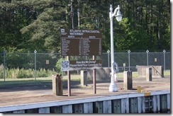 Dismal Swamp Lock Sign