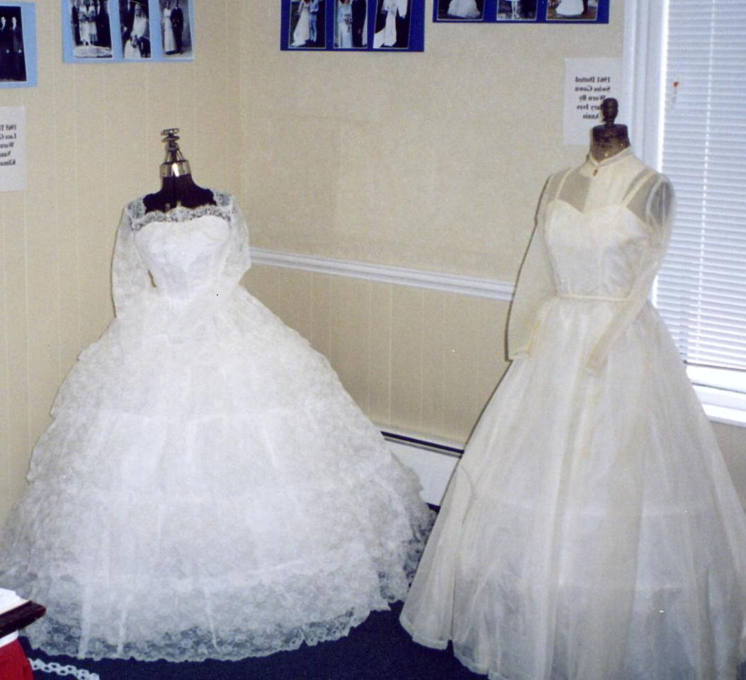 75 Years of Wedding Gowns: