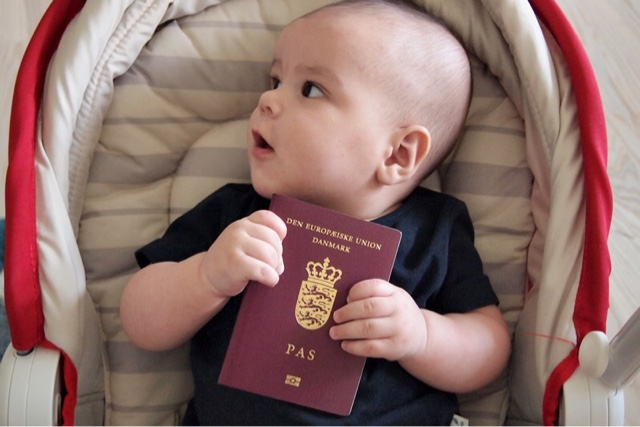 Noah and his first passport