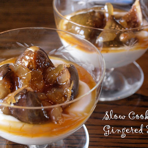 Slow Cooker Gingered Figs