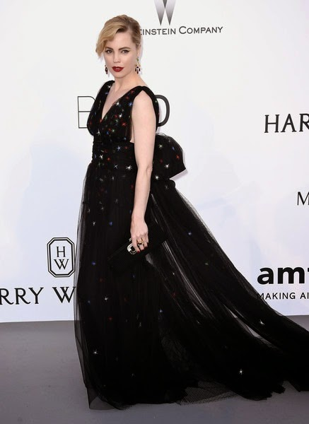 Melissa George attends amfAR's 22nd Cinema Against AIDS Gala