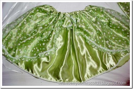 Skirt for Green Sprite Costume