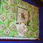 La tarta grande que sufrió un percance